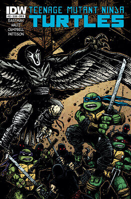 Teenage Mutant Ninja Turtles #32 1St Print Idw 2011 Cover B Eastman