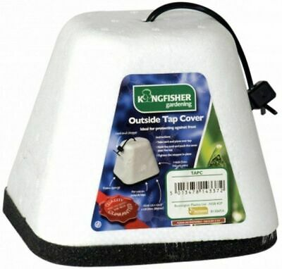 Insulated Outside Tap Cover Outdoor Thermal Garden Winter Frost Protector New Uk