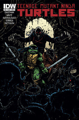 Teenage Mutant Ninja Turtles #36 1St Print Idw 2011 Cover B Eastman