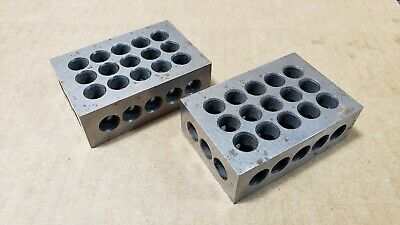 1 Pair 1-2-3 123 BLOCK Matched Precision Set