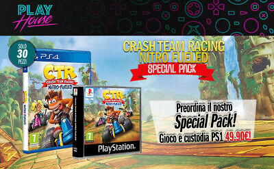 Crash Team Racing Nitro Fueled Special Pack Limited Collector's Edition Preorder