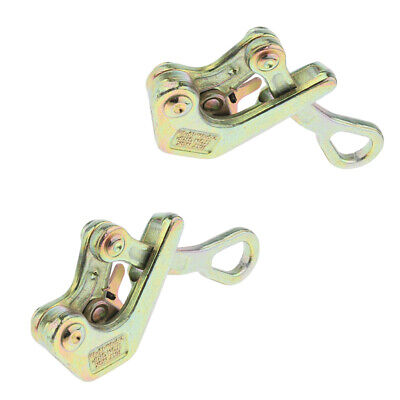 2pcs Insulated Wire Grip Cable Wire Puller Wire Clamp Pulling Tool 1 tons