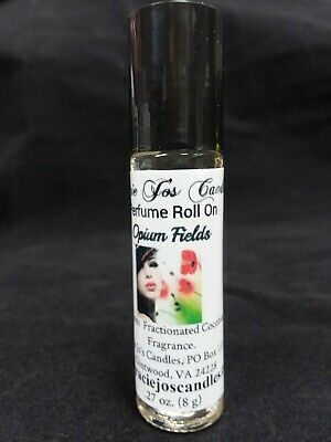 Perfume Oil Roll On (8ml) PARABEN FREE Scented Handmade YOUR CHOICE OF FRAGRANCE