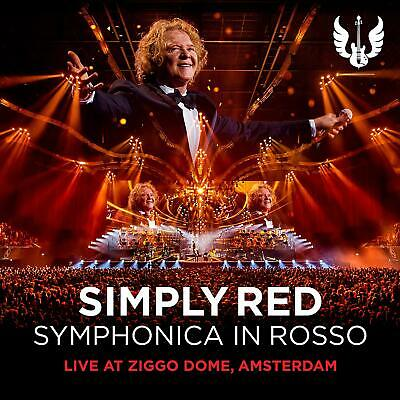 Simply Red - Symphonica In Rosso - Cd** New Sealed** Free Post**