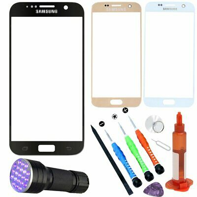 For Samsung Galaxy S7 G930 Front Touch Glass Lens Screen Replacement Repair Kits