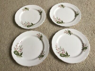 Lot Vintage Royal Stafford London Pride Salad Lunch Plate Fine Bone China