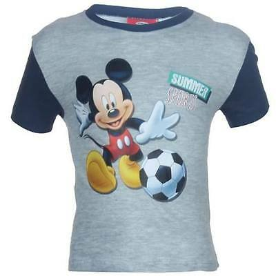 Tee shirt 2 ans MICKEY Gris foot enfant NEUF MICKEY MOUSE