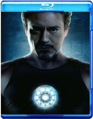 Iron Man (Blu-ray Disc, 2008, 2-Disc Set, Ultimate Edition)