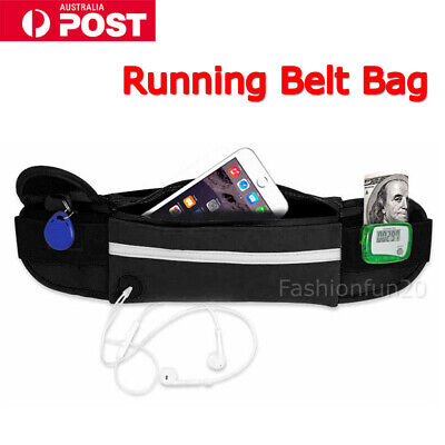 Running Bum Bag Fanny Pack Travel Waist Bags Sports Money Zip Pouch Belt Wallet