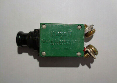 Aviation Rated Klixon 15 Amp Circuit Breaker Part # 2TC69-15 ECE Auto Racing