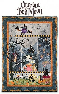 Once In A Boo Moon Complete Quilt Pattern Set by McKenna Ryan