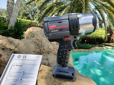 """Ingersoll Rand W7152  Iqv20 Volt 1/2"""" Impact Wrench Brushless 1500 FT/LBS TORQUE"""