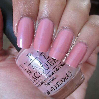 OPI HAWAIIAN ORCHID Neutral Pink w/ Light Purple Shimmer Nail Polish Lacquer A06