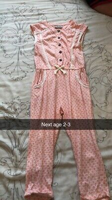 Girls Next Outfit Age 2–3