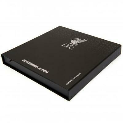 Liverpool Fc Lfc Executive A5 Notebook And Black Ink Pen Set New Gift Xmas