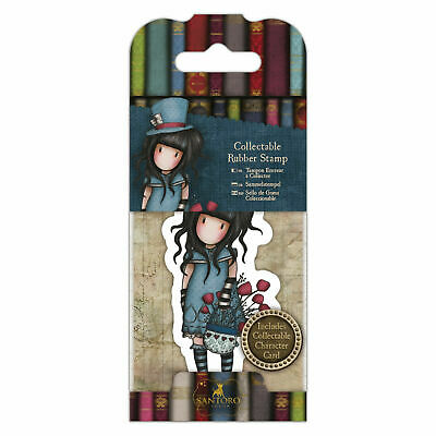 Santoro Gorjuss Collectable Rubber Stamp - No.29 The Hatter