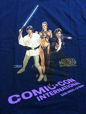 Star Wars San Diego Comic Com Sdcc - 2007 T-Shirt  Xl - Never Opened Limited Ed
