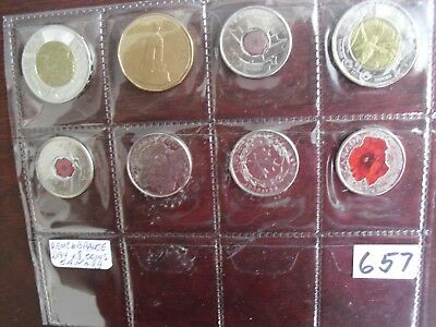 Remembrance day Canadian coin collection hobby souvenir loonie toonie quarter