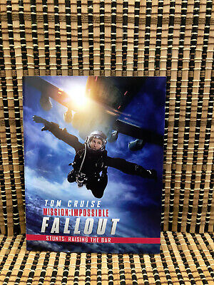 """Mission: Impossible - Fallout, Collectible Book  """"Stunts: Rasing The Bar"""". OOP"""