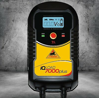 Panther Professional Battery Charger IQLOAD7000+12V/24V 20Ah-225Ah