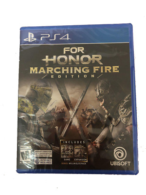 NEW For Honor Marching Fire Edition (PlayStation 4, 2018)