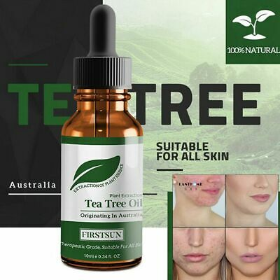 100% Natural Tea Tree Essential Oil Anti-wrinkle Extract Acne Scars Remover