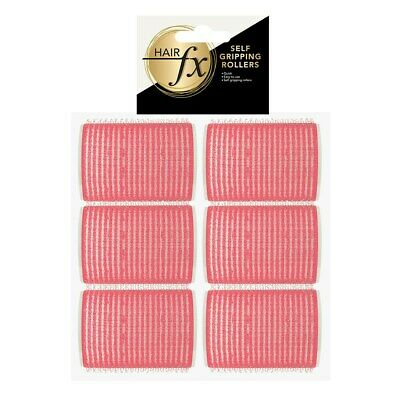 Hair FX Self Gripping 44mm Pink Velcro Rollers12 pack - Hair Salon Quality