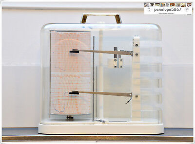 Präzisions THIES Clima Thermohygrograph METEOROGRAH BAROGRAPH  Trommelschreiber