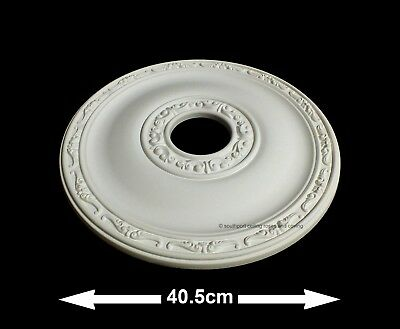 40.5cm Diameter, Lightweight Ceiling Rose (made of strong resin not polystyrene)