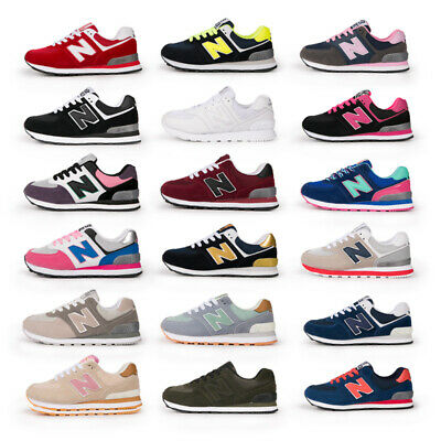 cebc43dab332c9 New Balance 574 Sneakers Sneakers Uomo Donna Lace Running Shoes Leisure  Gr.36-44