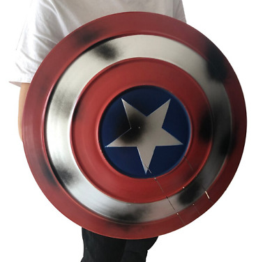 Avengers Endgame Captain America stainless Shield PU Hammer Cosplay Prop