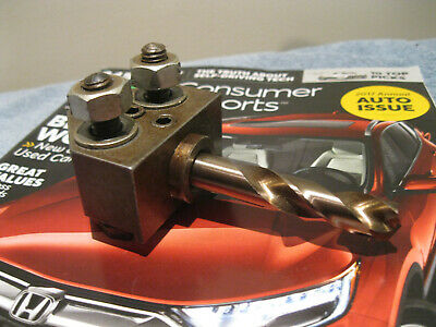 Hardinge Chucker Drill And Shank Toolholder 3/4 Id W/31/64 Bushing And Drill