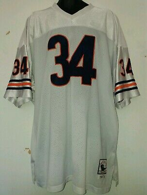 8de6be3a1a2 Mitchell & Ness Throwback 1975 Chicago Bears Walter Payton Jersey Size 60