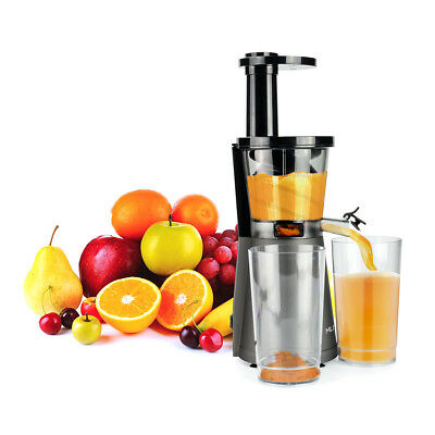 Mliter 200W Low Speed Masticating Juicer Extractor Presse-agrumes électrique FR