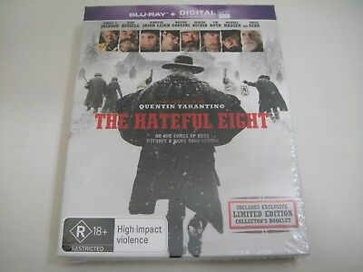 The Hateful Eight (2015) - JB Hi-Fi Exclusive Blu-Ray Region B + Limited Booklet