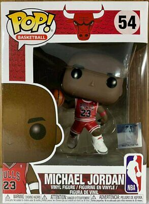 Funko Pop Basketball Chicago Bulls # 54 Michael Jordan Vinyl Figure in stock