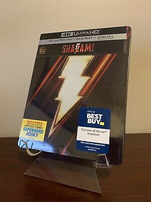 Shazam Steelbook (4K UHD/Blu-ray/Digital) Factory Sealed!!