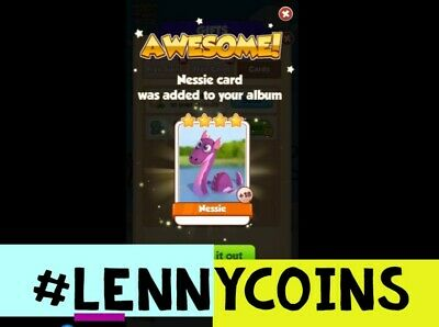 Nessie Coin MasterCard. Fast Delivery! 100% Customer Satisfaction!