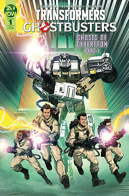 Transformers Ghostbusters #1 1:10 Milne Variant (19/06/2019)