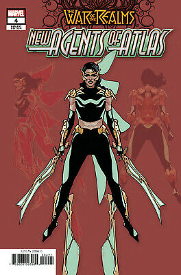 War Of Realms New Agents Of Atlas #4 (Of 4) 1:25 Yu Variant (26/06/2019)