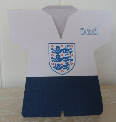 86c0cfc3 PERSONALISED FOOTBALL FATHER'S Day Card - Football Shirt Card For ...