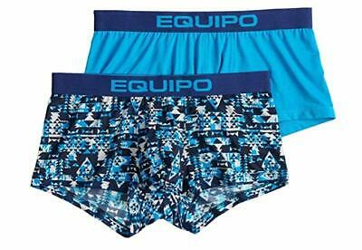 85971be1f527 Equipo Mens 2 Pack Microfiber Brazilian Trunks Performance Stretch Underwear  NEW