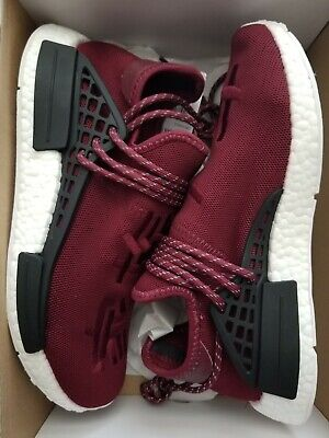 the latest 2ab18 f1399 ADIDAS NMD PHARRELL Williams Human Race Friends And Family Burgundy