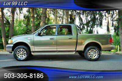 2002 F-150 King Ranch Super Crew 4X4 Heated Leather Short Bed