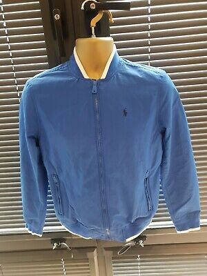 Polo Ralph Lauren Boys Great Jacket coat Blue Age 13-15 ONLY £47! WOW GENUINE