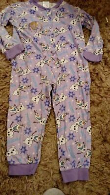 frozen all in one sleepsuit age 5-6