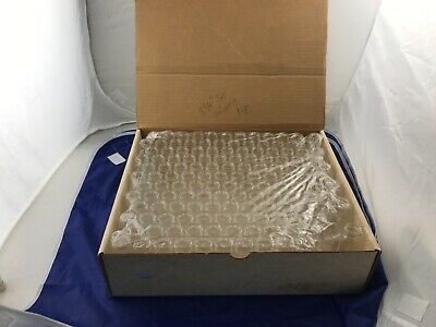 Case of Clear Glass Vials Screw Top NO CAPS  3 3/4- Tall  3/4 Top  140 Total Pie