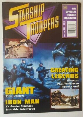 Starship Troopers Poster Magazine. 1998