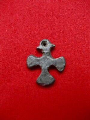 Crusader Silver  Cross Dated In Xii Century Very Rare (Authentic 100%)