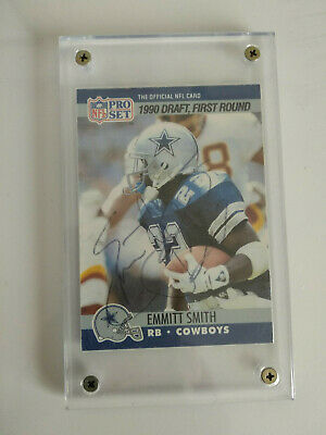 Emmitt Smith Rookie Card Year 1990 Pro Set Football Wax Pack Box